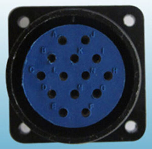 14 Pin Panel Mount Outlet,Socket,Miller,Hobart Miller Maxstar Dynasty 200,210