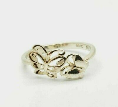 Wavy /& Stylish HAN Sterling Silver Ring Size 8.5