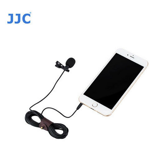 JJC SGM-28 Omnidirectional Lavalier Microphone digital camera  camcorder iphone