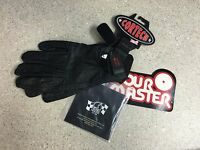 83-402 Box15 Tour Master Standard Rider Glove (black) Size Small Never Worn
