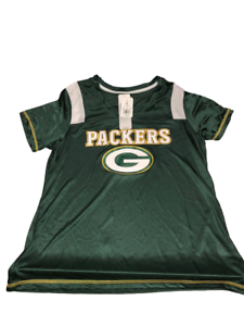 3db8eb3b Details about GREEN BAY PACKERS JERSEY WOMEN'S LARGE