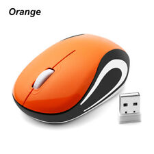 89ee1fa3903 2.4GHz Mini Wireless Mouse Cute Cordless Portable Optical Mice For PC Laptop