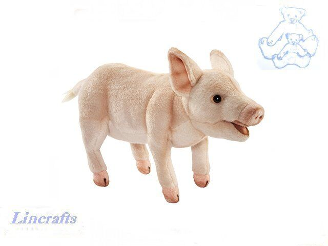 Hansa Piglet 6290 Plush Soft Toy Farm Animal Sold by Lincrafts Established 1993