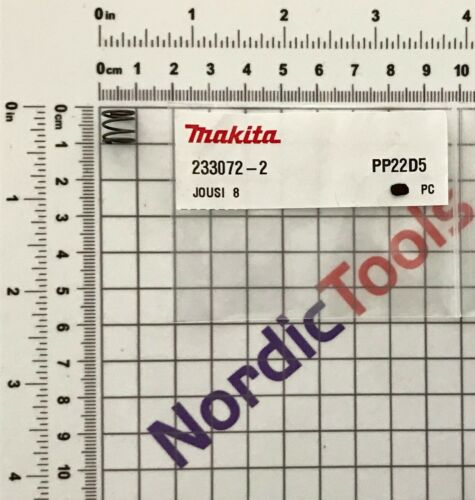 NEU Original Makita DGA504 125MM CORDLESS ANGLE GRINDER Repair Parts Replacement