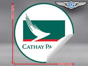 CATHAY-PACIFIC-AIRWAYS-ROUND-LOGO-STICKER-DECAL