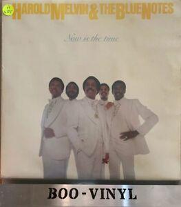 Harold-Melvin-amp-the-Bluenotes-ahora-es-el-momento-LP-Vinilo-Grabacion-ex-con