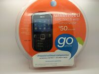 Att Z431 Go Phone Cell Smart Prepaid Qwerty Camera No Contract Bluetooth
