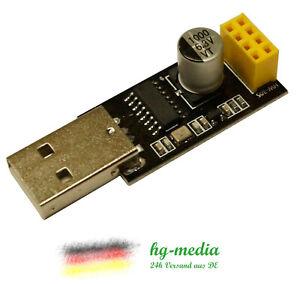 USB-zu-ESP8266-Adapter-ESP01-Seriell-Programmierer-UART-Arduino-ESP-01