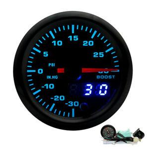 2-034-52mm-7-Colors-LED-Car-Turbo-Boost-Pressure-Gauge-PSI-Meter-Analog-Digital-UK