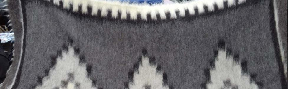 Sheepskin Wool 100% Sheep Wrap Coverlet Medical Blanket Plaid Healing Handmade