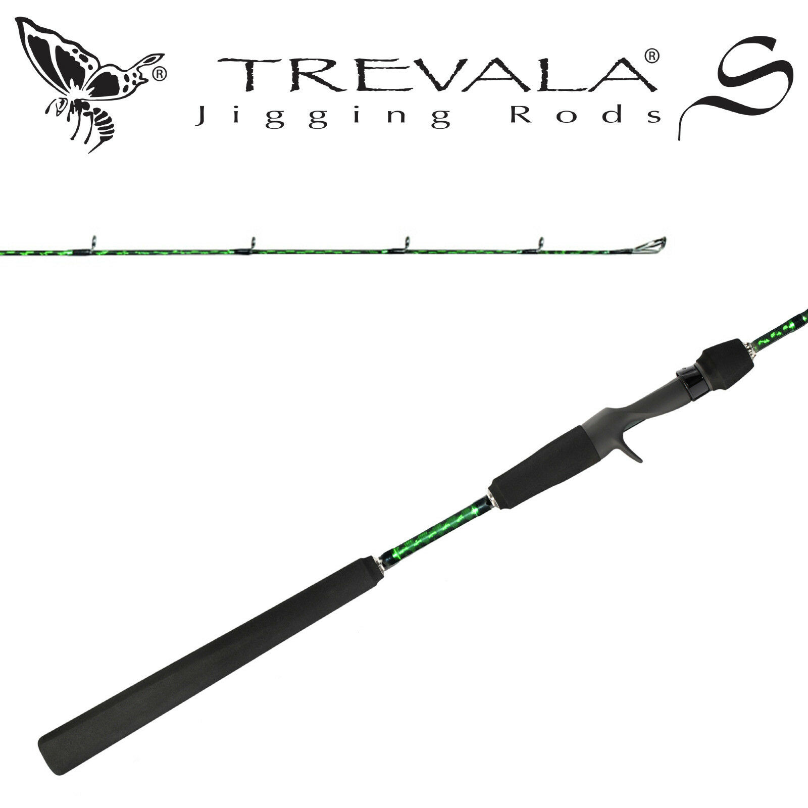 Shimano Trevala S Butterfly Jigging Casting Rod TVSC63L 6'3  Light 1pc