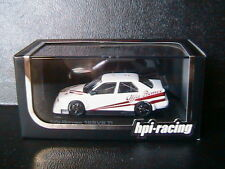 ALFA ROMEO 155 V6 TI PLAIN BODY VERSION WHITE 1993 HPI RACING 8042 1/43 BIANCA