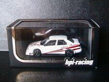 ALFA ROMEO 155 V6 TI PLAIN BODY VERSION WHITE 1993 HPI RACING 8042 1/43 BIANCA