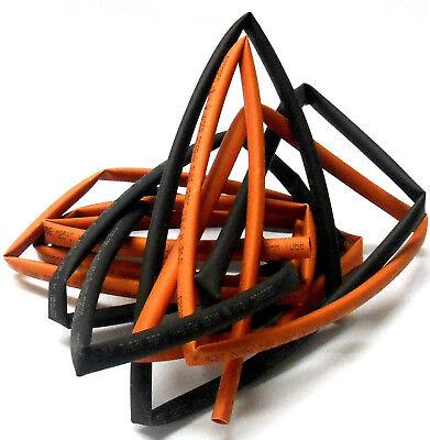 50cm Long C1502-3 Heatshrink Heat Shrink Tube Tubing Sleeve 3.5mm Red Black