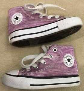 Converse Sneakers 5 Baby Girl Purple