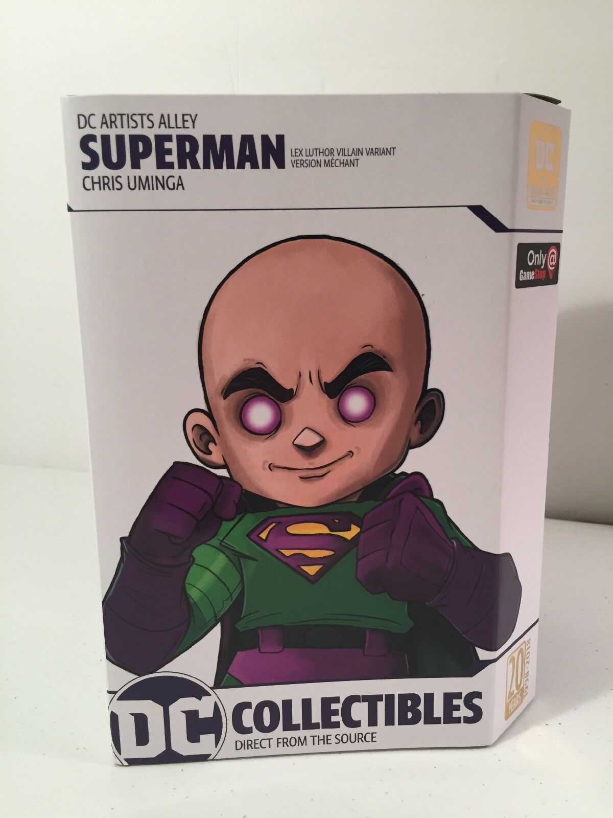 DC Artist Alley Superman 6.6-Inch PVC Collector Statue [Lex Luthor Villain] Rare