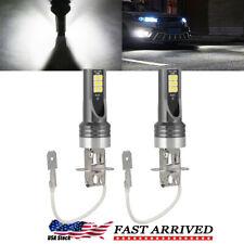 H3 Cree Led Fog Light Bulbs Conversion Kit Super Bright Canbus 6000k White 100w