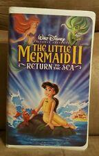 Little Mermaid II, The: Return to the Sea (VHS, 2000)