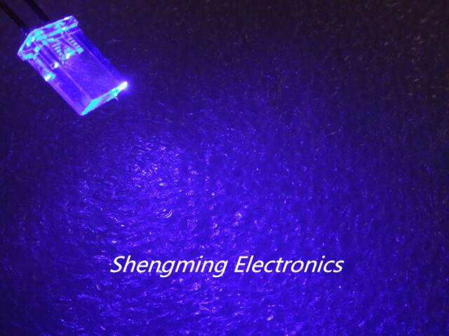 100PCS 2x5x7 Blue Color Led 3.0~3.2V 120deg 2*5*7 MM water clear
