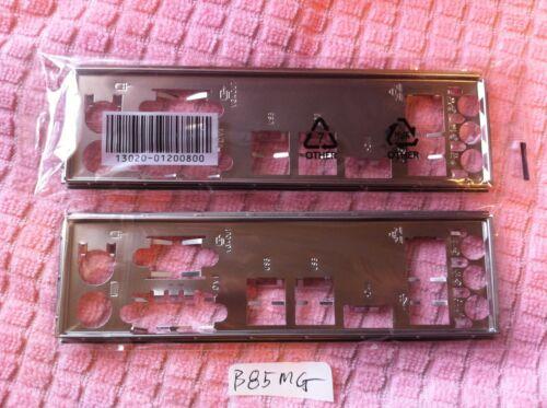 B85M-G PLUS ORIGINAL ASUS IO SHIELD FOR ASUS  B85M-G H87M-E B85M-G//SI USED