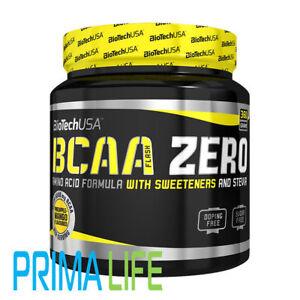 Biotech-USA-BCAA-Flash-ZERO-Glutammina-Aminoacidi-360-G-Arancione