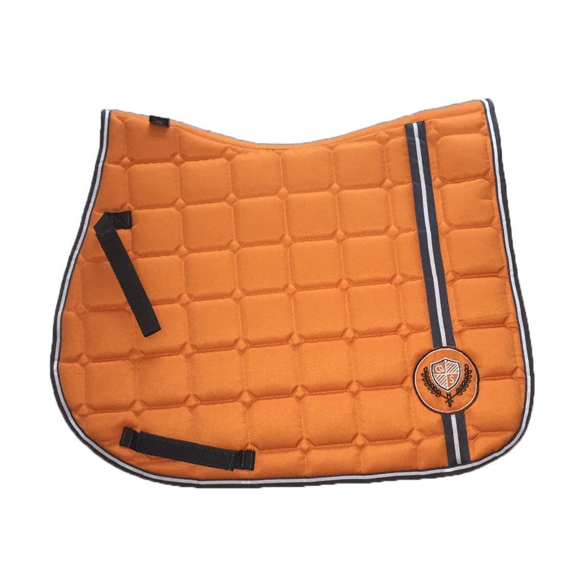 COLDSTREAM orange SADDLE CLOTH PAD PONY COB OR COB FULL