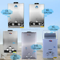 1.6 /2 /3.2/ 5 GPM LPG Propane / NG Natural Gas Water Heater Boiler Stainless