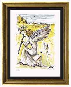 Salvador-Dali-Signed-Hand-Numbered-Ltd-Ed-034-Helen-of-Troy-034-Litho-Print-unframed