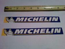 2 Michelin Tire Decals Sticker Shroud Graphics Swingarm Decal Factory Race Bike