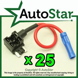 25-Add-A-Circuit-Fuse-Tap-Piggy-Back-MICRO-Fuse-Holder-APS-ATT-mini-LOW-PROFIL