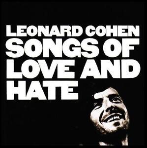 LEONARD-COHEN-SONGS-OF-LOVE-AND-HATE-D-Remaster-CD-w-BONUS-Track-NEW