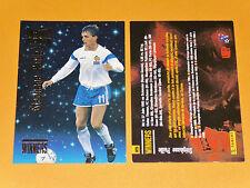 STEPHANE PAILLE EQUIPE FRANCE SERVETTE GENEVE FOOTBALL CARD PREMIUM PANINI 1995