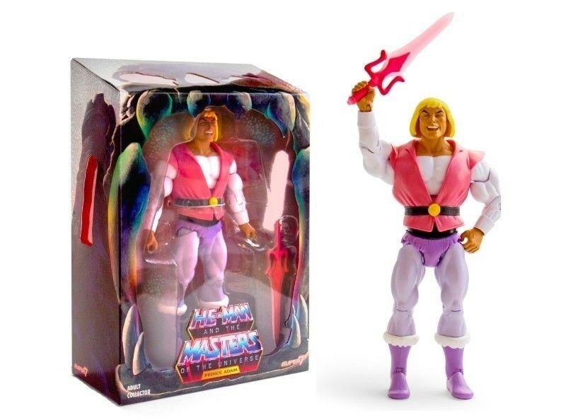 SDCC 2018 Masters of the Universe Laughing Prince Adam Super 7 He-Man