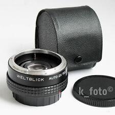 Weltblick 2x-Telekonverter * Canon FD * converter * Konverter
