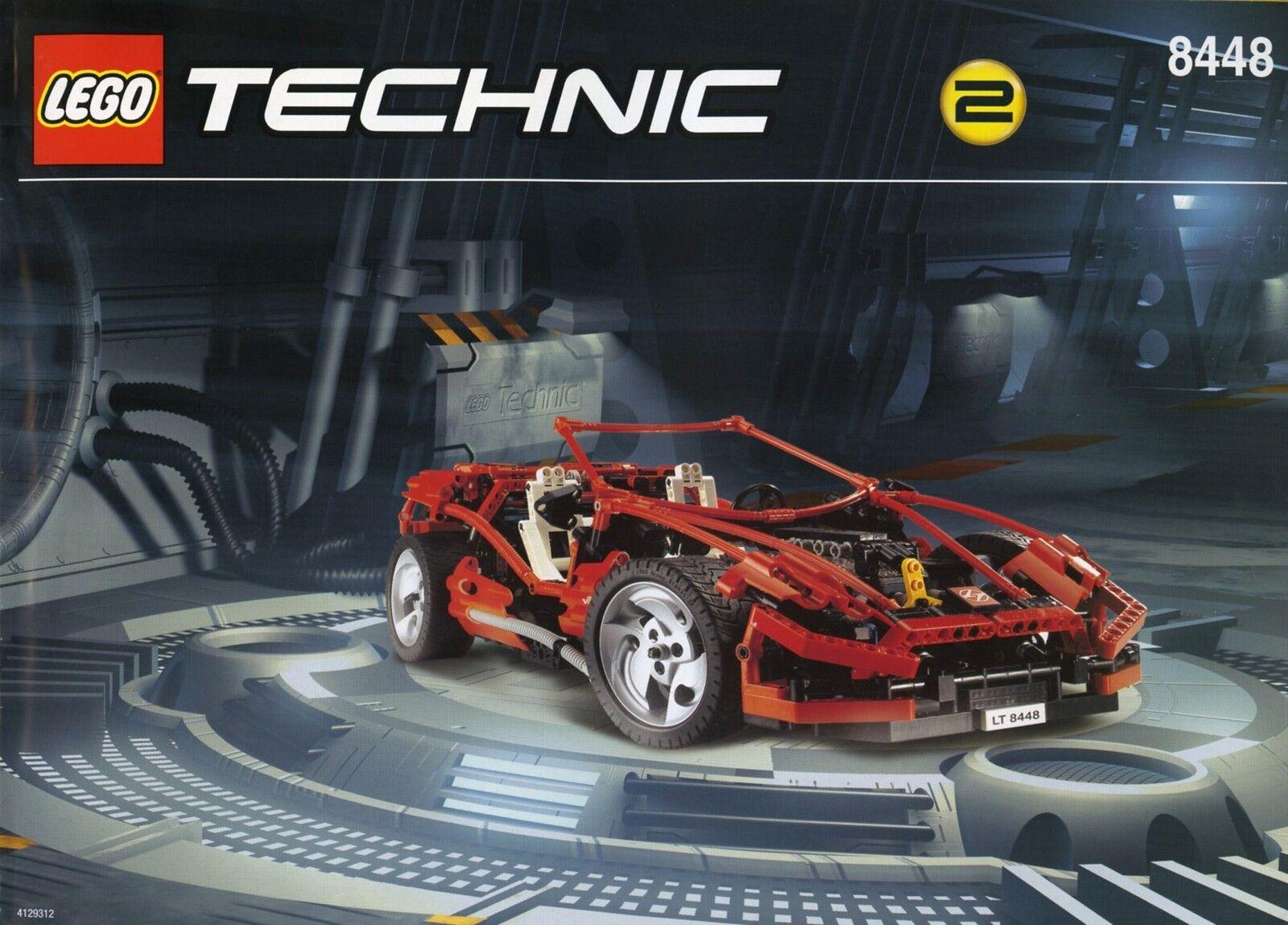 Lego Technic tráfico 8448 Super Street Sensation Model Nuevo Sellado Coche Insignia