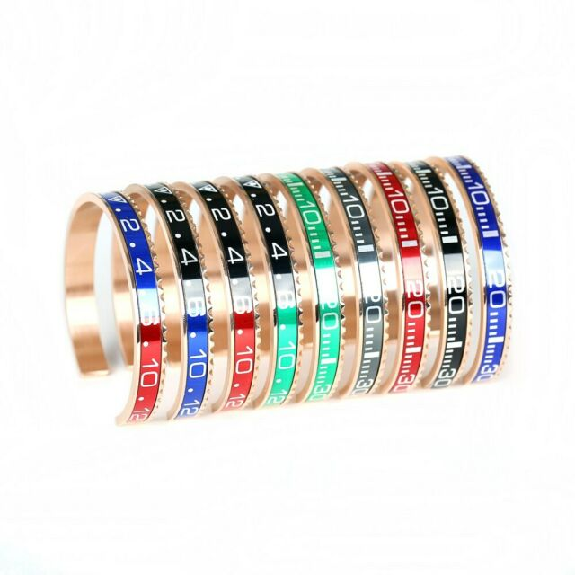 d1f4eae0953a8 Men Speedometer Bracelet Stainless Steel Bangle Fashion Official Watch Style