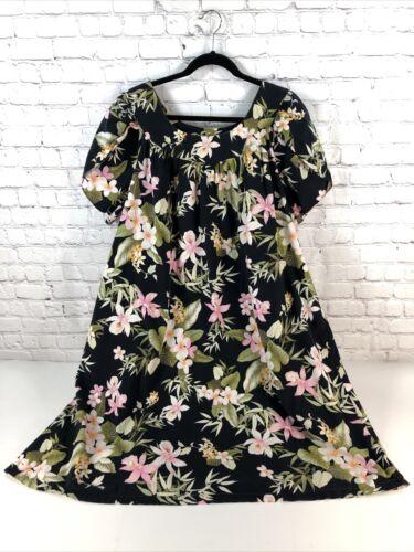 Vtg Shannon Marie Hawaiian Dress Muumuu Vintage si