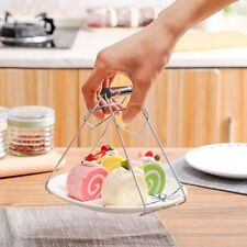Hot Bowl Clip Plate Dish Holder Clamp Tong Tool Anti Scald Kitchen Pot Gripper