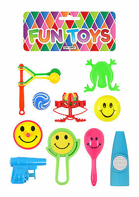 10 Assorted Party Bag Toys - Pinata School Gift Wedding/Kids Fillers