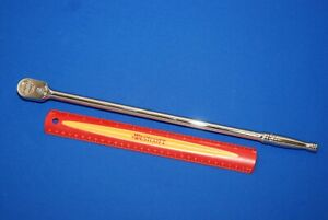 """*NEW* Snap On 3//8/"""" Drive Dual 80® Technology Extra Long Handle Ratchet FLL80"""