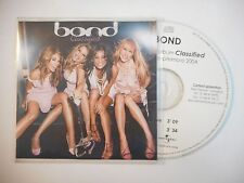 BOND : CLASSIFIED ♦ CD SINGLE ACETATE PORT GRATUIT ♦