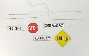 Mid-Century-Hanging-Mobile-San-Francisco-Street-Signs-Paper-Haight-Ashbury-Vtg