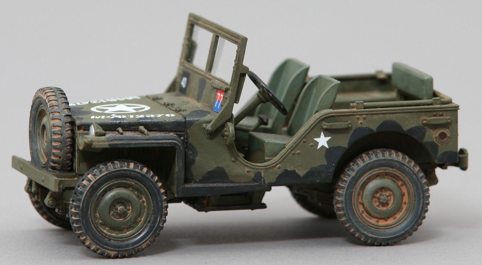 Thomas Gunn WW2 Amerikanische GB009 U.S.Willys G503 Jeep MIB