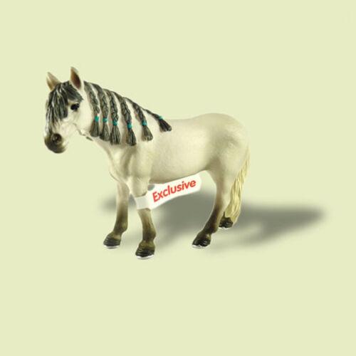 """#neu con banderuole-NEW with tag!!! /""""andaluso giumenta/"""" 72054 Schleich"""