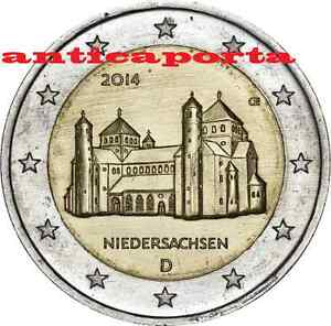 ALLEMAGNE 2014 Monnaie G église de St. Michele Hildesheim Bella et rares