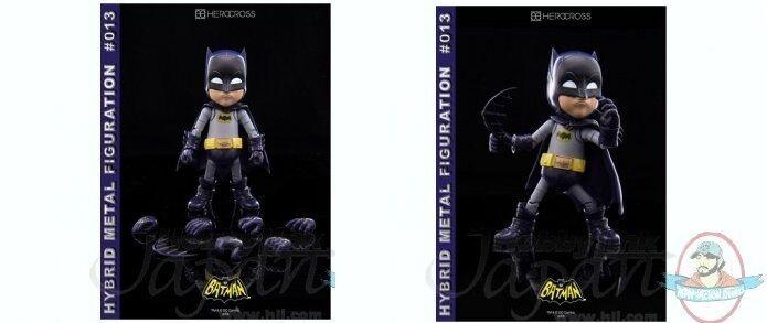 Hybrid Metal Figuration  013 Batman 1966 TV Series Batman Herocross