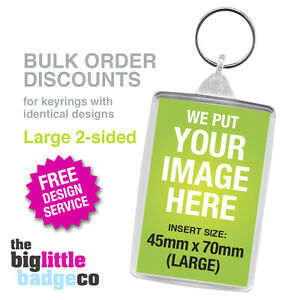 DISCOUNT-PRICES-MULTIPLE-PERSONALISED-ACRYLIC-KEYRINGS-LARGE-70mm-x-45mm