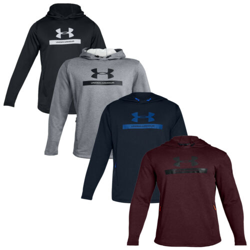 UA Gym Pullover Training Top Under Armour Mens MK1 Terry Graphic Hoodie