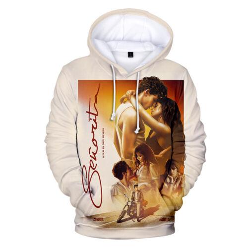Shawn mendes-Senorita 3D Hoodies Unisex Sweatshirt Pullover Long Sleeve Hooded