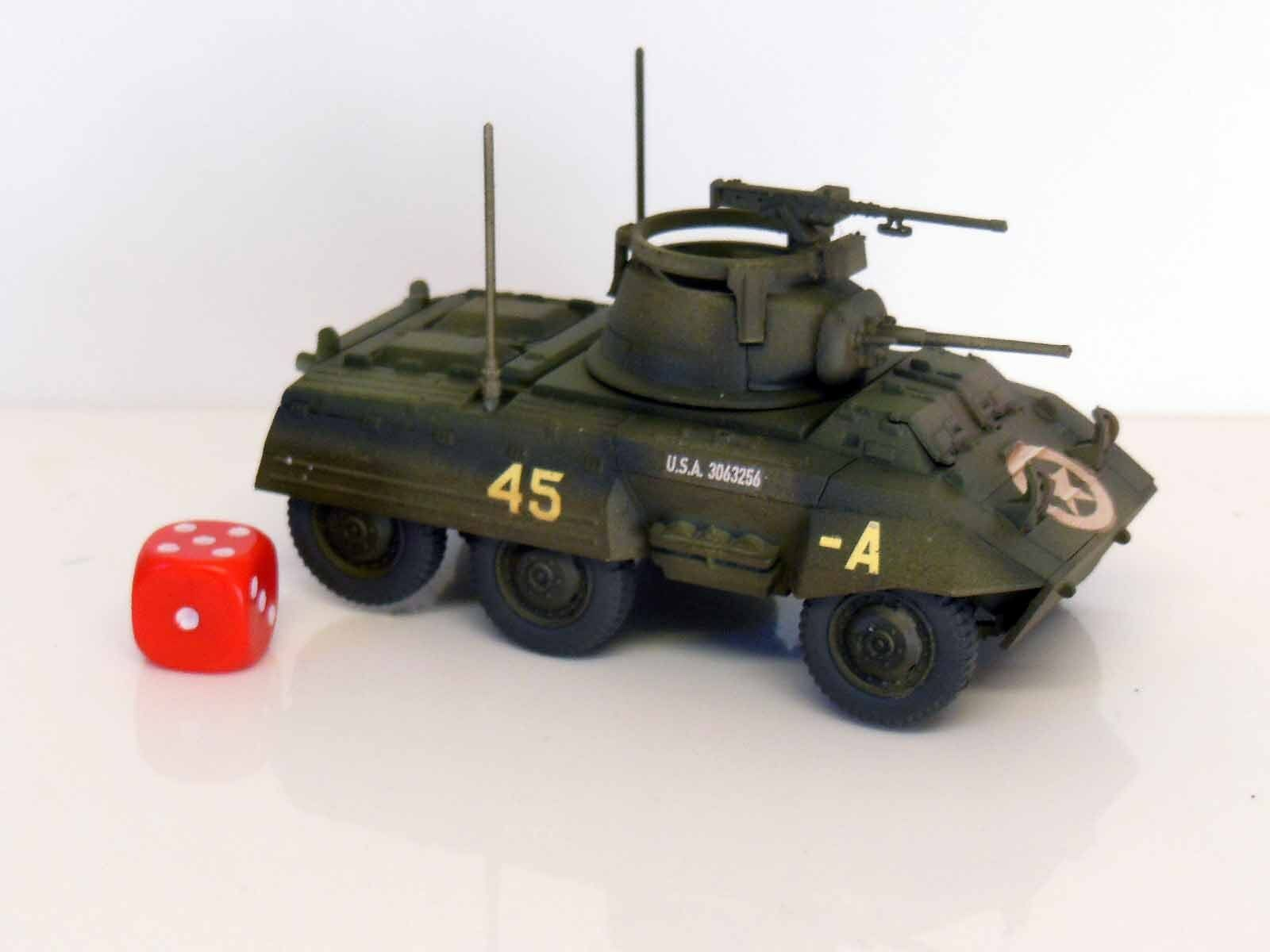 28mm Bolt Action Chain Of Command US Army M8 Greyhound Scout Car - Painted